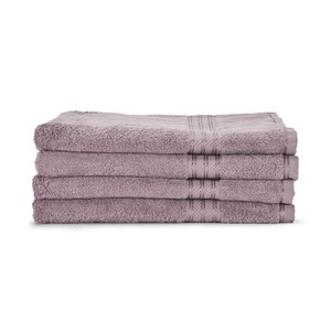 Restmor 100% Egyptian Cotton 4 Pack Bath Sheets (500gsm) - Mauve