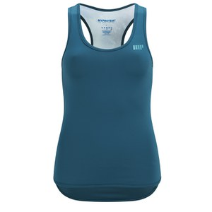 Myprotein Womens Racer Back Scoop Vest - Teal Graffiti