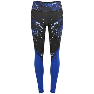 Myprotein Women's Printed Block Leggings - Blue