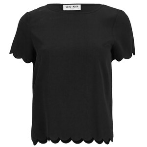 Vero Moda Women's Ring Top - Black