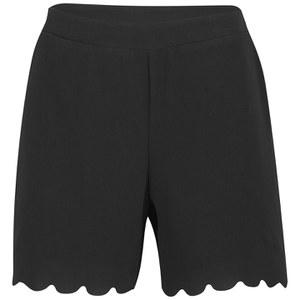 Vero Moda Women's Ring Shorts - Black