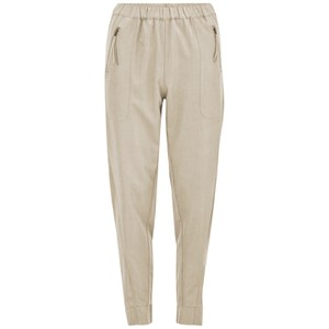 Vero Moda Women's Indi Loose Trousers - Oatmeal