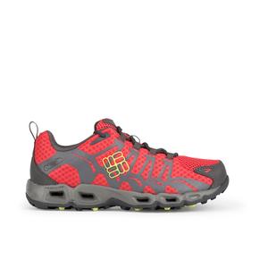 Columbia Women's Ventrailia Outdoor Shoes - Red Hibiscus/Grey