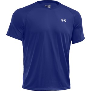 Under Armour Men's Tech T-Shirt - Royal Blue/White