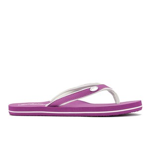 Animal Women's Swish Slim Flip Flops - Berry
