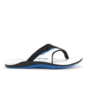 Animal Men's Fader Premium Flip Flops - White