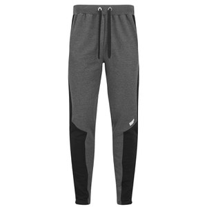 Myprotein Panelled Slimfit Sweatpants with Zip Herrar - Charcoal