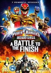Power Rangers: Megaforce Volume 2: A Battle to the Finish