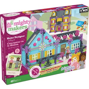 K'NEX Mighty Makers Home Sweet Home Building Set (43535)