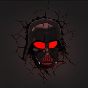 Star Wars Darth Vader 3D Wall Light
