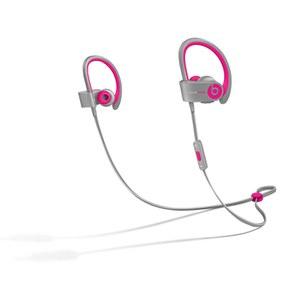 Beats by Dr. Dre: PowerBeats 2 Wireless Earphones - Pink/Grey