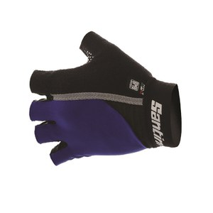 Santini Gel Mania Summer Mitts - Royal Blue