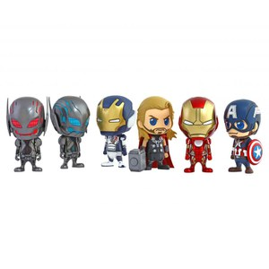 Hot Toys Marvel Avengers Age of Ultron Collectible Cosbaby Action Figures Set