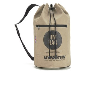 Myprotein Jim Bag Canvas Duffel Bag - Camel/Black