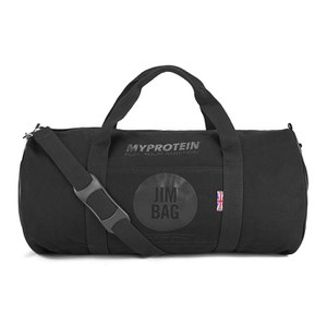 Myprotein Jim Bag Canvas Holdall Bag - Black