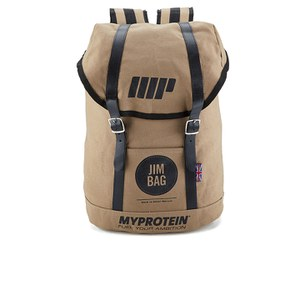 Myprotein Jim Bag Canvas Rucksack - Camel/Black