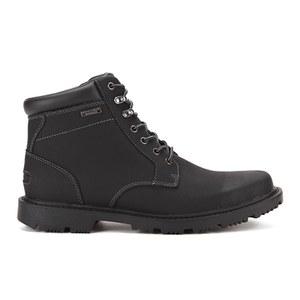 Rockport Men's Redemption Road Plaintoe Lace Boots - Black