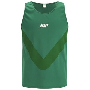 Myprotein Men's Running Vest  - Green