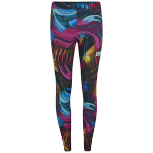 Myprotein Psychedelic Swirl Print Leggings - Multi