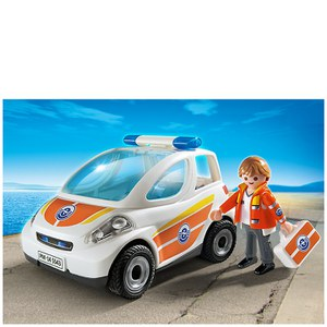 Playmobil Coast Guard Emergency Vehicle (5543)