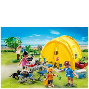 Playmobil Camping Family with Camping Tent (5435)