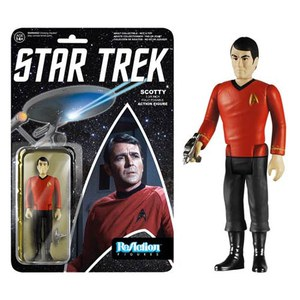 ReAction Star Trek Scotty 3 3/4 Inch Action Figure