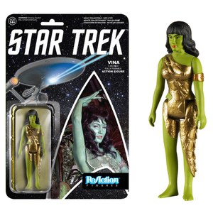 ReAction Star Trek Vina 3 3/4 Inch Action Figure