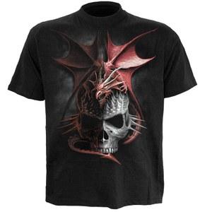 Spiral Men's SERPENT INFECTION T-Shirt - Black