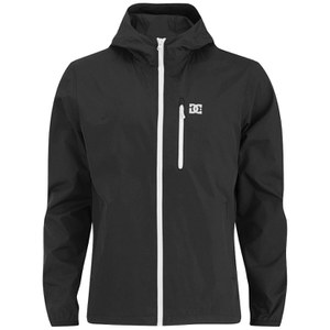 DC Men's Dagup Hooded Windbreaker Jacket - Black