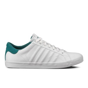K-Swiss Men's Belmont Low Top Trainers - White