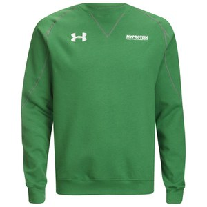 Under Armour Vault Men's Storm Crew Neck Sweatshirt, Emerald