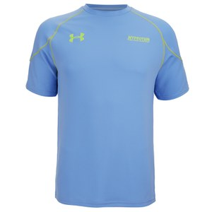 Under Armour Vault Men's Tech T-Shirt, Sky Blue/High Vis