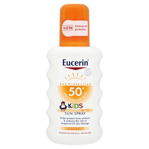Eucerin® Sun Protection Kids Sonnenspray 50+ Sehr Hoch (200ml)