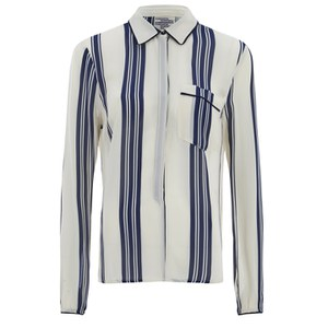 Baum und Pferdgarten Women's Mani Stripe Shirt - Sailor Stripe