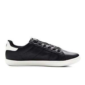 Jack & Jones Men's Brooklyn PU Trainers - Black