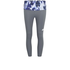 Myprotein Women's Capri - Charcoal with Geometric Print