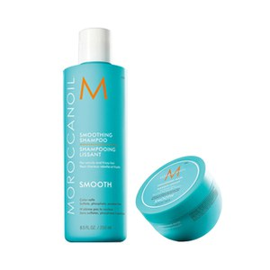 Moroccanoil Smoothing Shampoo and Mask (250ml)