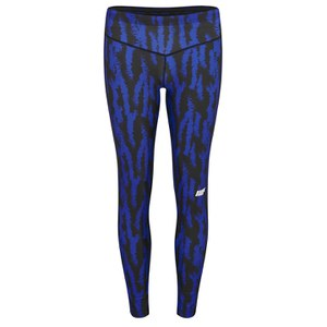 Damskie legginsy  Myprotein Women's FT Athletic Tights – Blue Structure