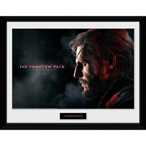 Metal Gear Solid V Snake Framed Photographic - 16 x 12