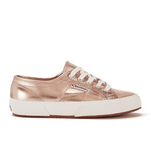 Superga Women's 2750 Cotmetu Trainers - Rose Gold