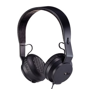 The House of Marley Roar Headphones (Includes In-Line 1 Button Mic) - Black