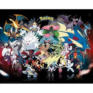 Pokémon Mega - 16 x 20 Inches Mini Poster