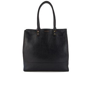 Lulu Guinness Women's Daphne Large Grainy Leather Tote Bag - Black