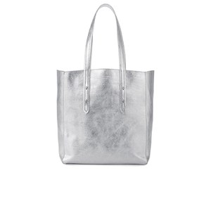 Aspinal of London Women's Essential Tote Bag - Silver Smooth