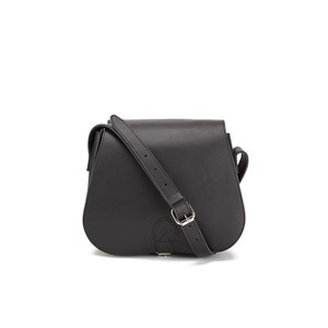 Sandqvist Women's Malin Leather Saddle Bag - Black