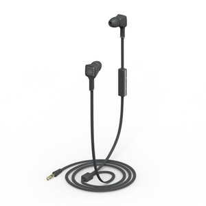 Ministry of Sound Audio Earphones - Charcoal and Gun Metal