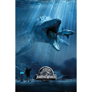 Jurassic World Mosa One Sheet - 24 x 36 Inches Maxi Poster