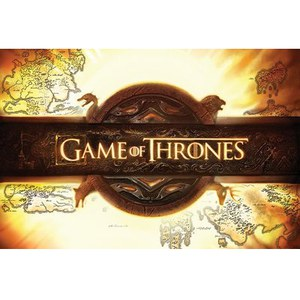 Game Of Thrones Logo - 24 x 36 Inches Maxi Poster