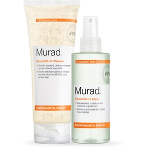 Murad Essential-C Cleanser & Essential-C Toner (Worth: £45.00)