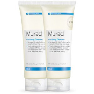 Murad Clarifying Cleanser Duo (Worth: £50.00)
